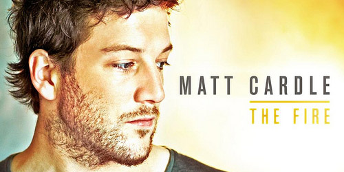 Matt Cardle; he didn't start the fire, did he?