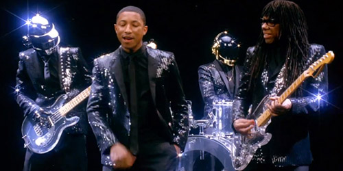Daft Punk and Pharrell Williams