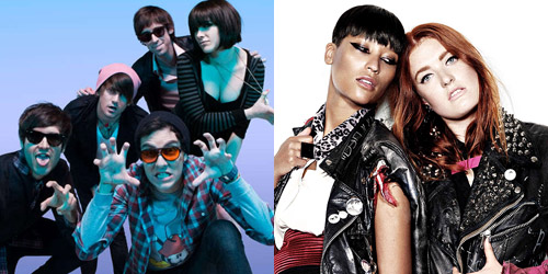 Cobra Starship and Icona Pop