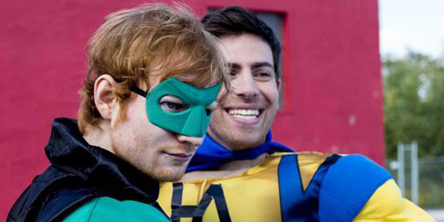 Hoodie Allen and Ed Sheeran