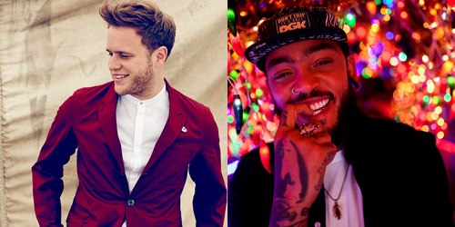 Olly Murs and Travie McCoy
