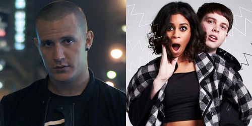 DJ Snake and AlunaGeorge