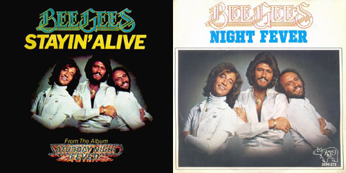 Bee gees billboard domination night fever